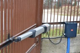 Kit automatizare porti batante 2x4m, BFT KUSTOS ULTRA BT A40